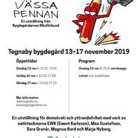 affisch Vassa pennan Tegnaby