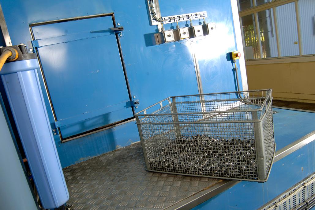 Alkalisk Tvättanläggning