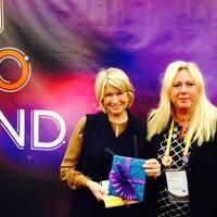 Annica Thorberg meeting Martha Stewart at Inbound14