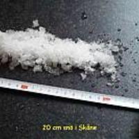 20 cm sno i Skane