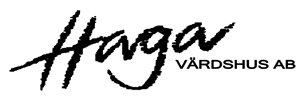 Haga V�rdshus logo