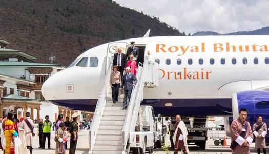 Svenskt statsbesök i Bhutan - Foto för Swed-Asia Travels