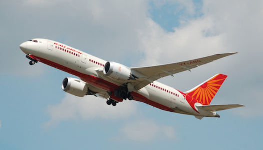 Stockholm - New Delhi med Air India - Foto: Wikicommons (lånad bild)