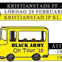 Kristianstad borta