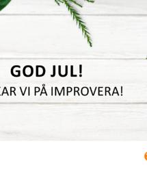 God Jul önskar vi på Improvera!