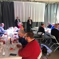 Improveras och Älmhult kommuns lunchträff hos SpeakEasy i Älmhult.