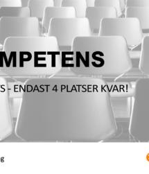 Utbildningen VD-Kompetens i Växjö - endast 4 platser kvar