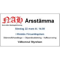 Arsstamma NAH 2020