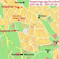 Avsparrningar Kirunafestivalen 2017