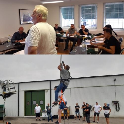 Lift & fallskyddsutbildning