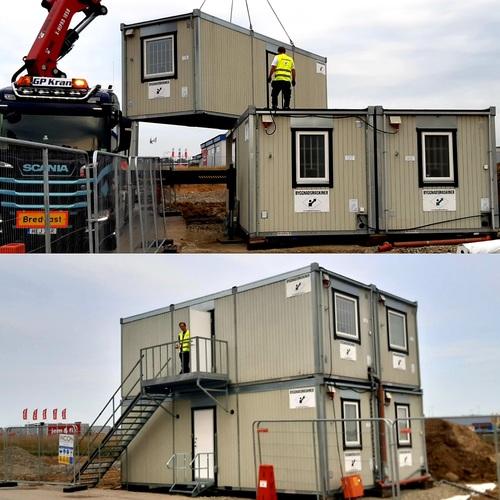 Bodetablering Byggnadsmaskiner