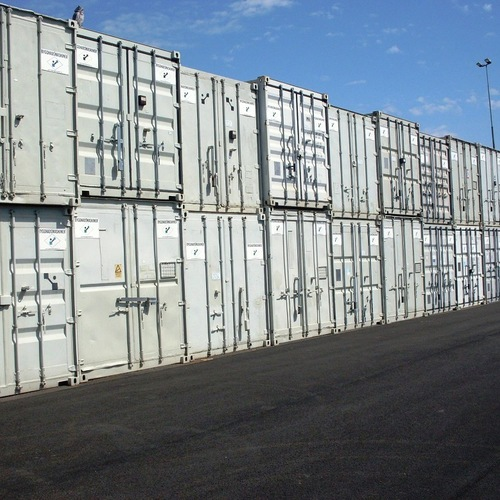 Byggnadsmaskiner, container