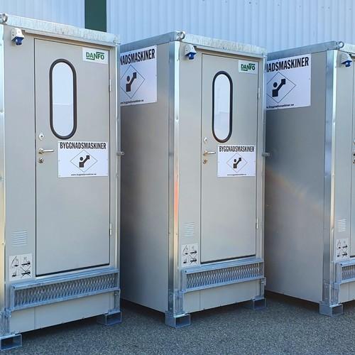 Toaletter Byggnadsmaskiner